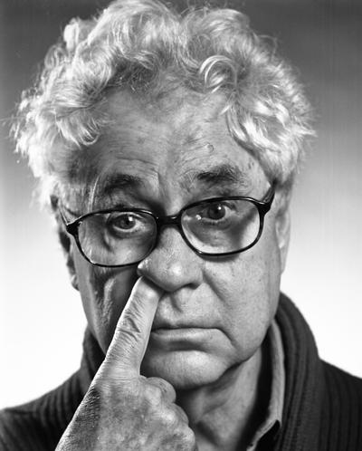 'Finger up the nose, 2009' self portrait © Elliott Erwitt/MAGNUM PHOTOS